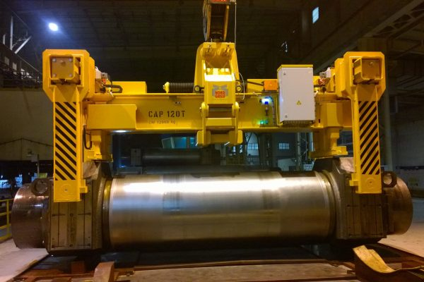 Electromotive Single Mill Roll Transport Grab