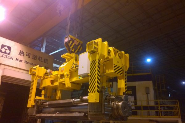 Electromotive Roll Mill Transport Grab