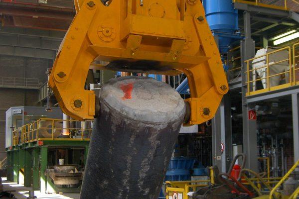 hydraulische Umlegezange